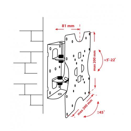 Как сделать крепление жк телевизора